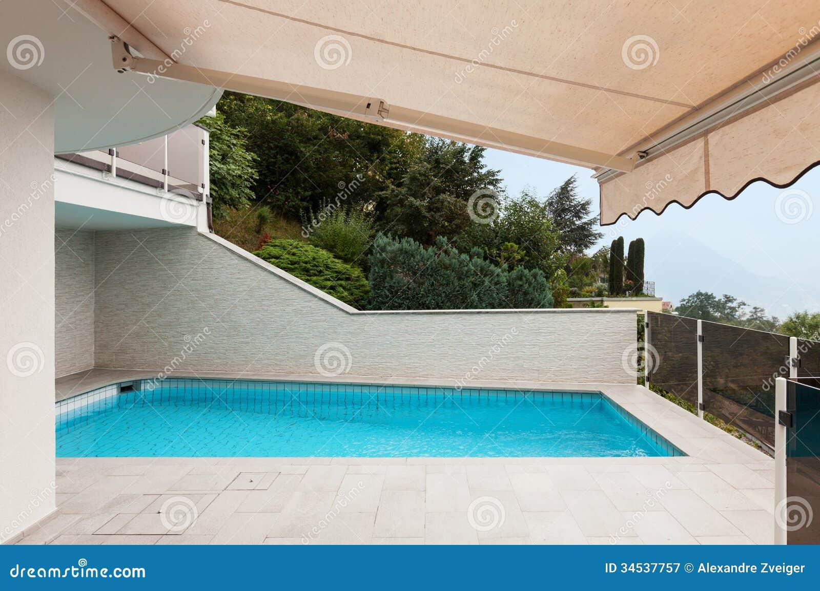 Piscina de la pizca de la arquitectura fotograf a de archivo libre de regal as imagen 34537757 - Business plan piscina ...