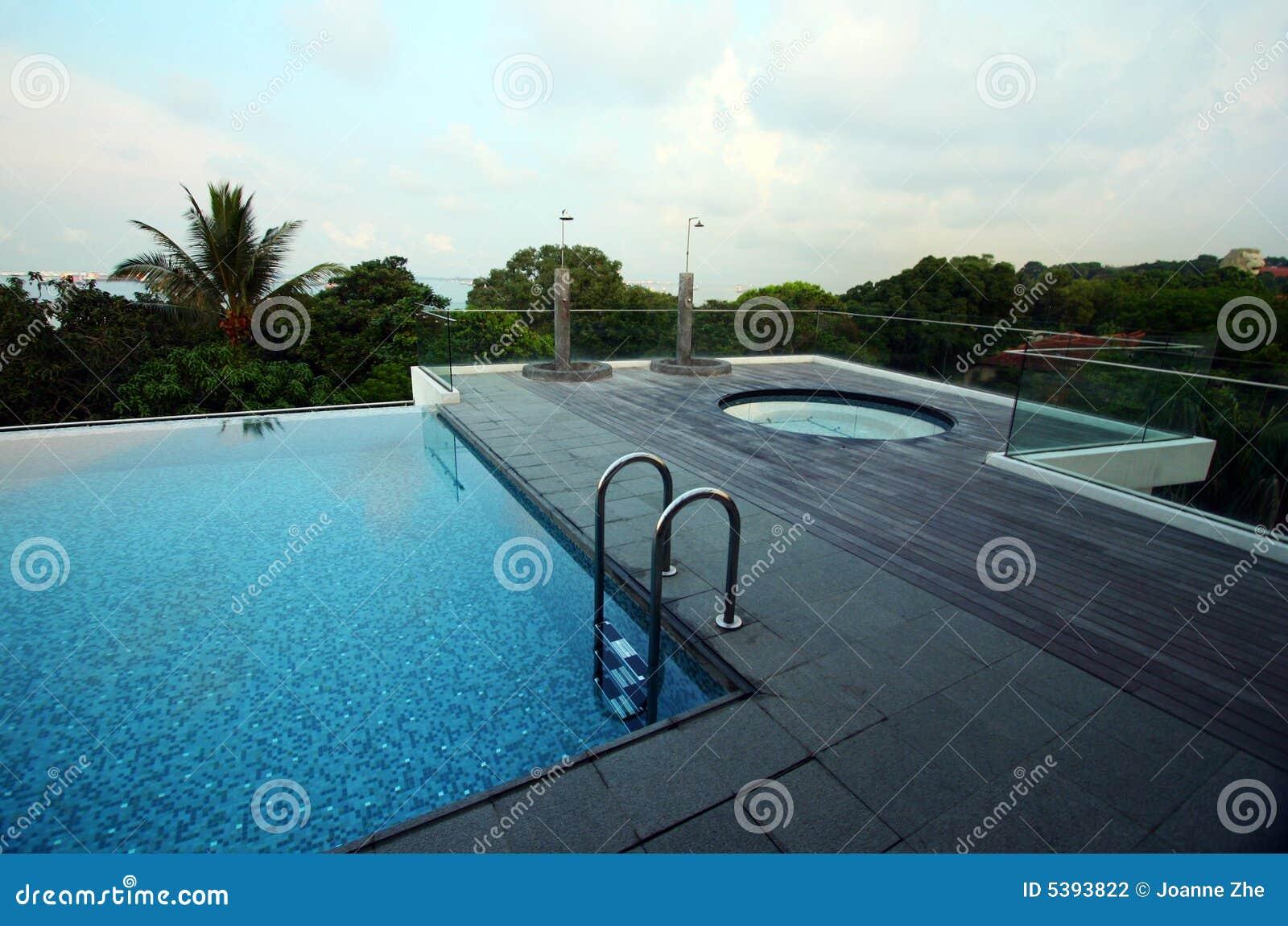 Piscina del infinito del tejado jacuzzi - Business plan piscina ...