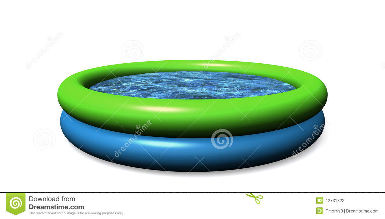 Piscine d 39 enfant illustration stock image 42731322 for Piscine enfant