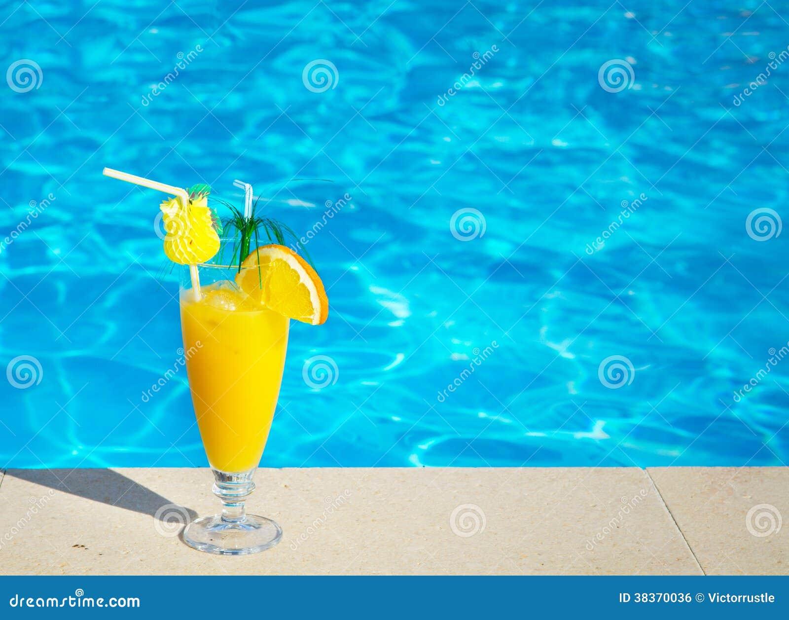 Piscine Jus Cocktail Vacances D 39 T La Plage Image