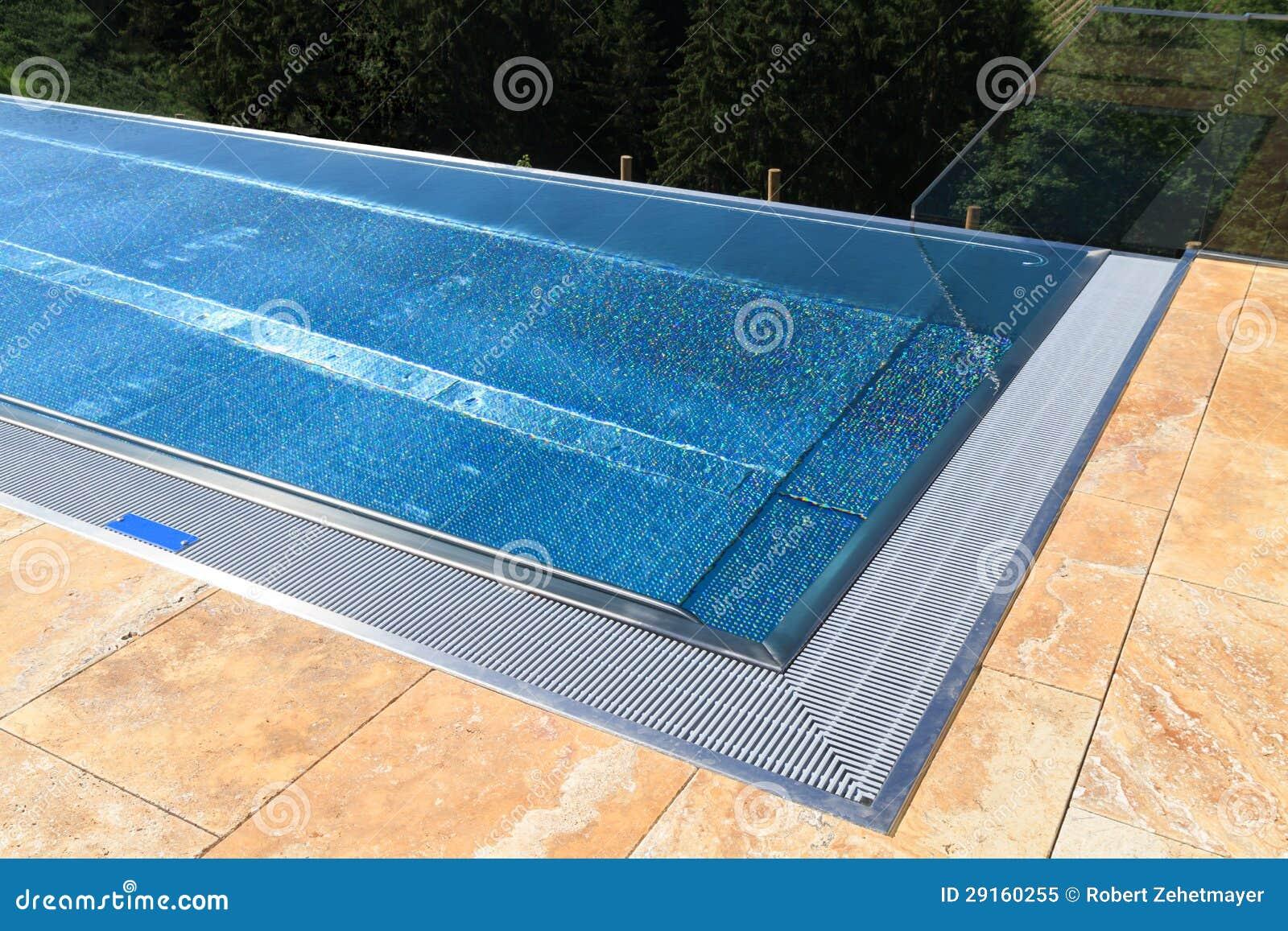 piscine moderne image stock image du fond manoir beau 29160255. Black Bedroom Furniture Sets. Home Design Ideas
