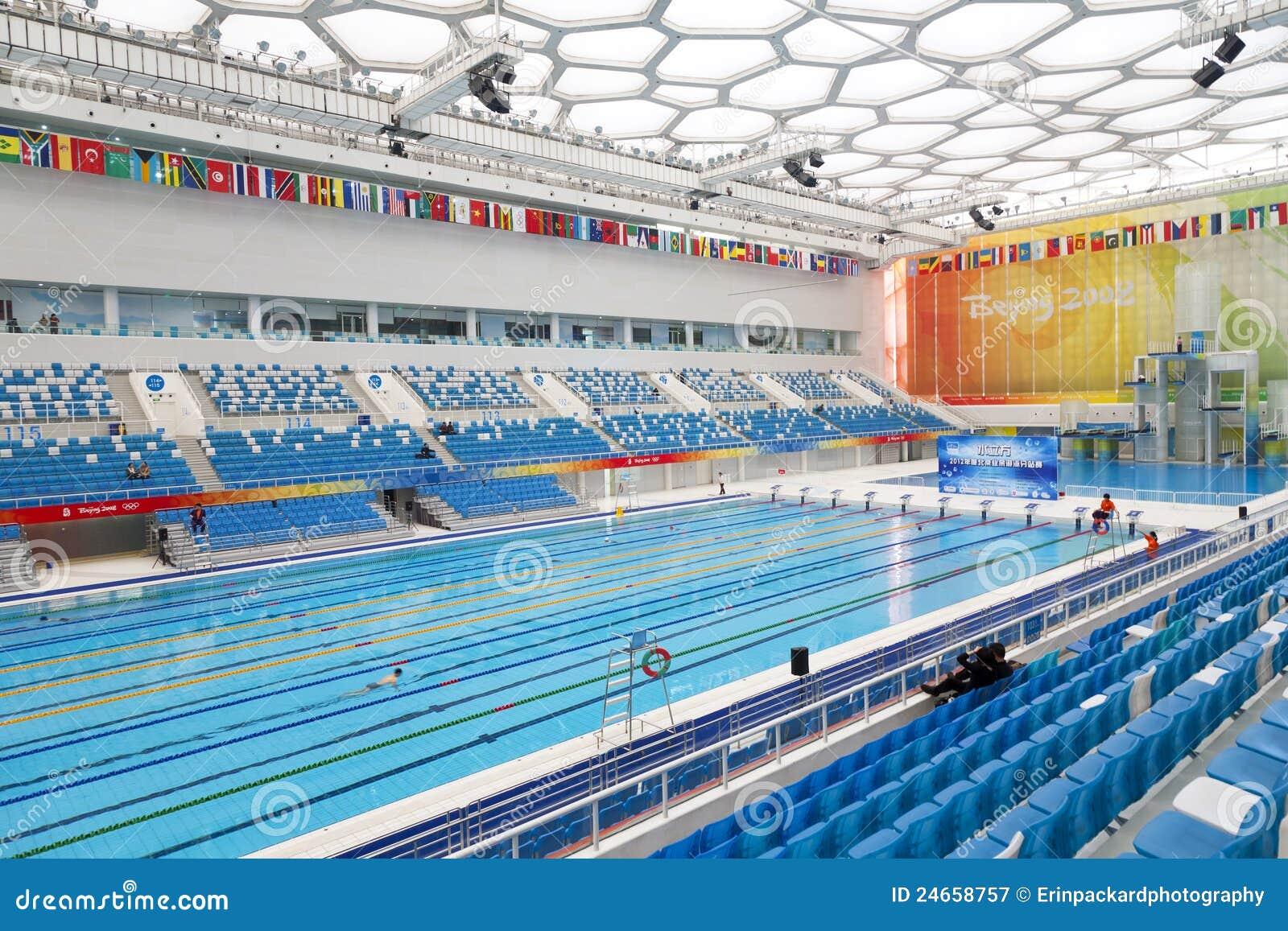 Piscine olympique photographie ditorial image 24658757 - Piscine olympique paris ...