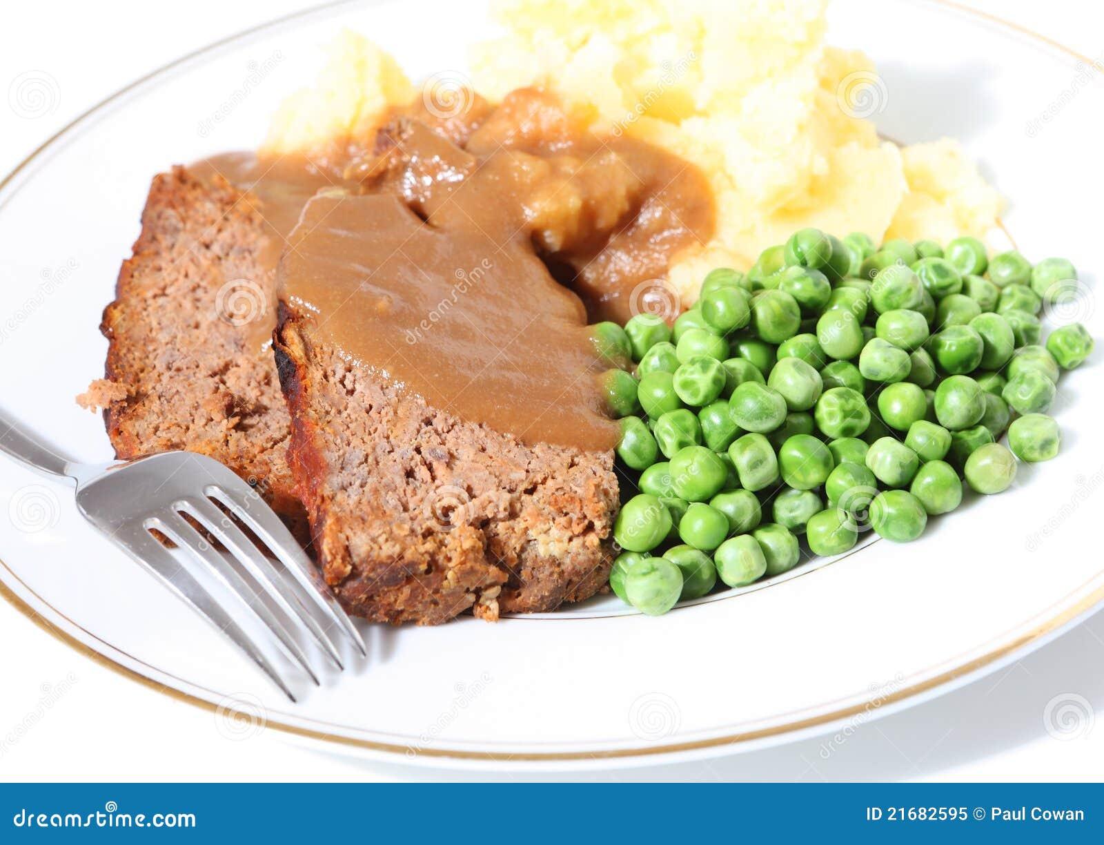 Piselli patata e sugo del polpettone