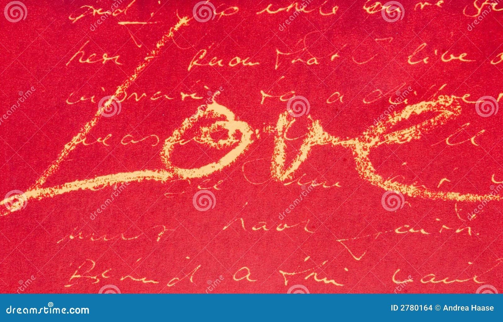 Pismo miłości