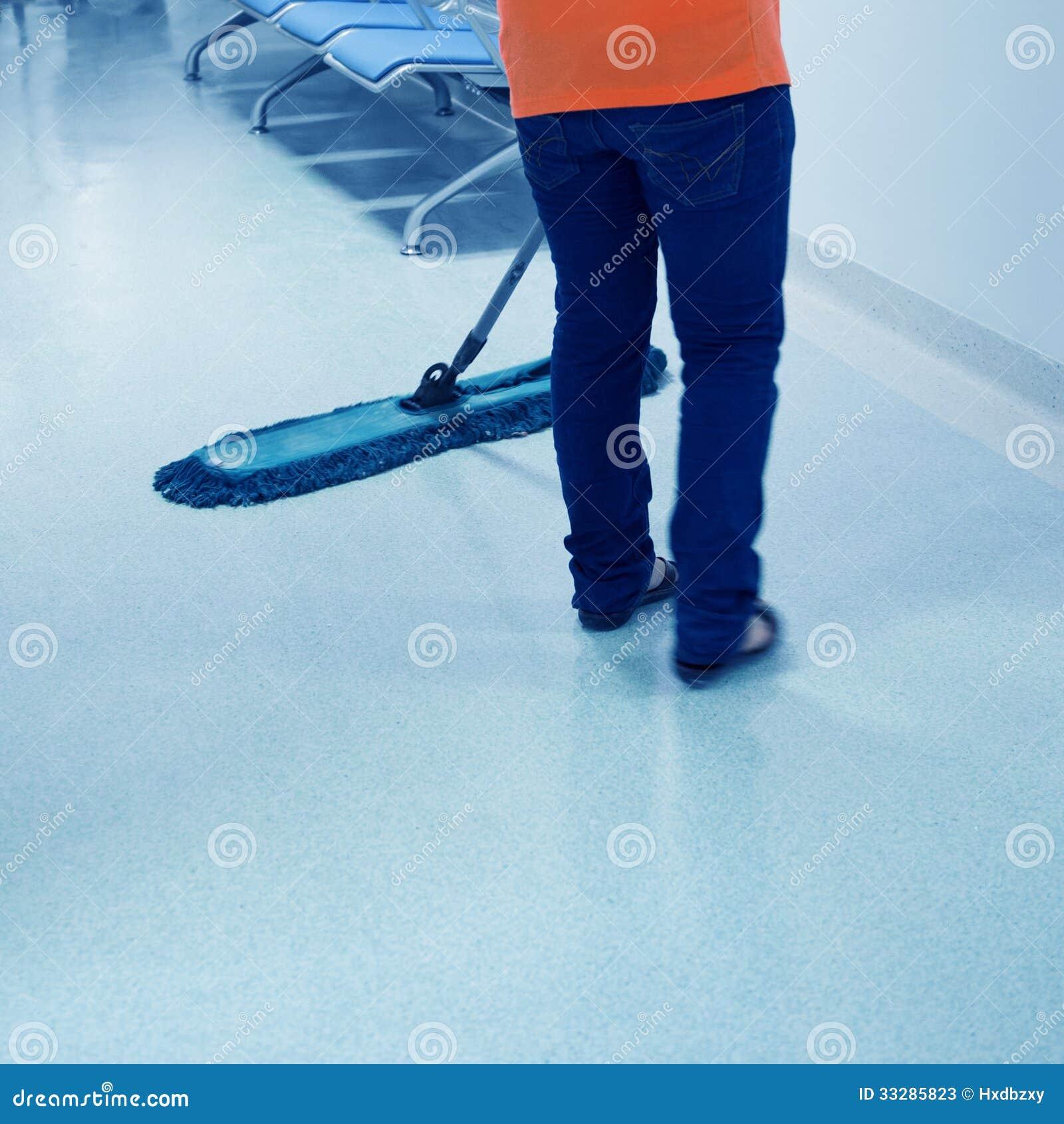 Piso de la limpieza