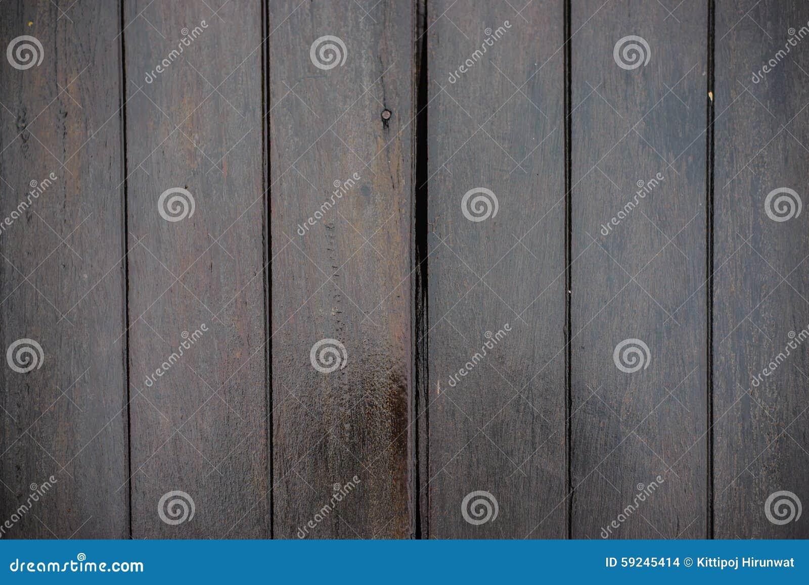 Pisos de madera mojados
