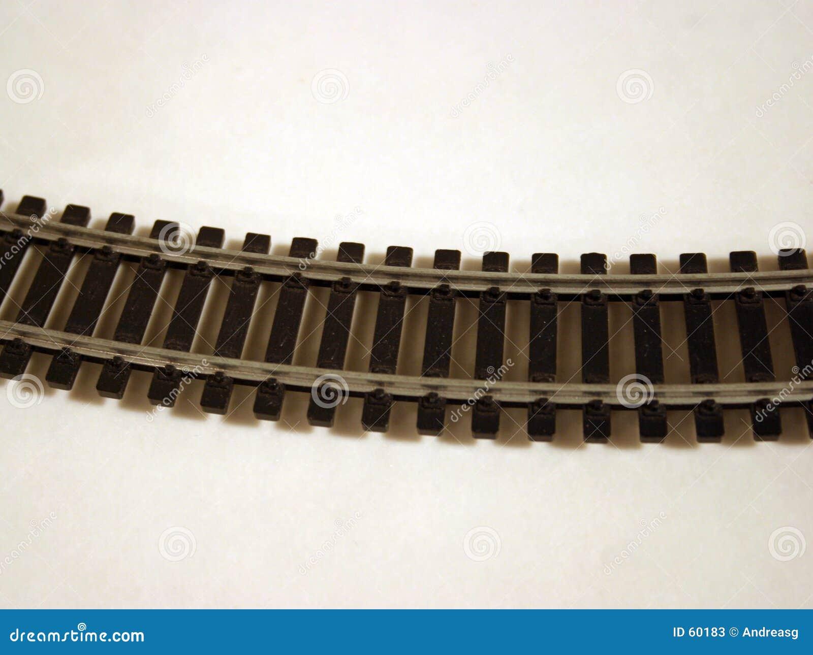 Pista de ferrocarril