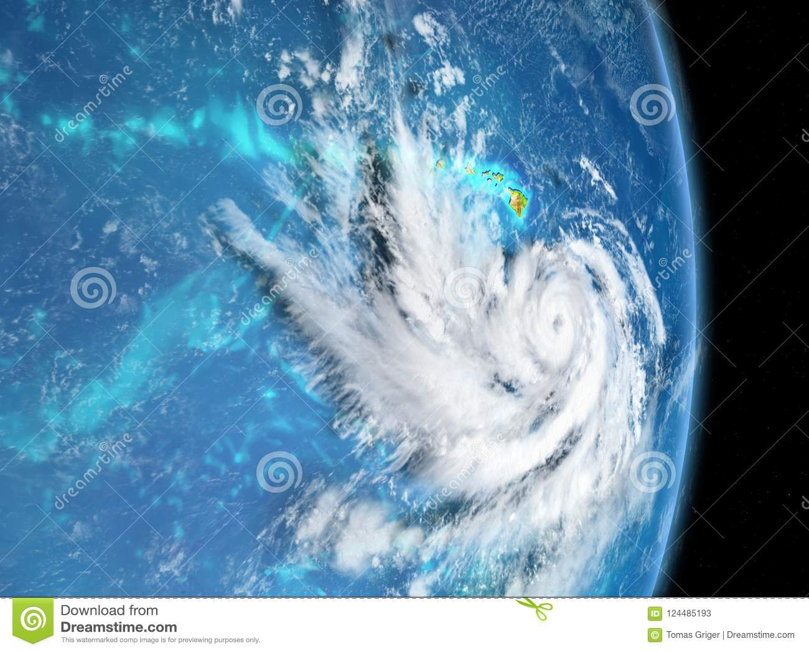 Pista do furacão
