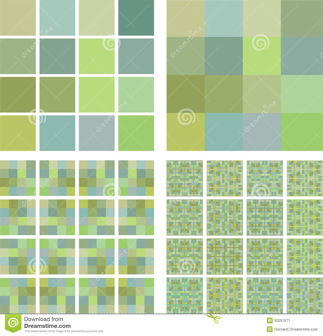 Pistachio color tiles stock vector Image of green gray 20251671