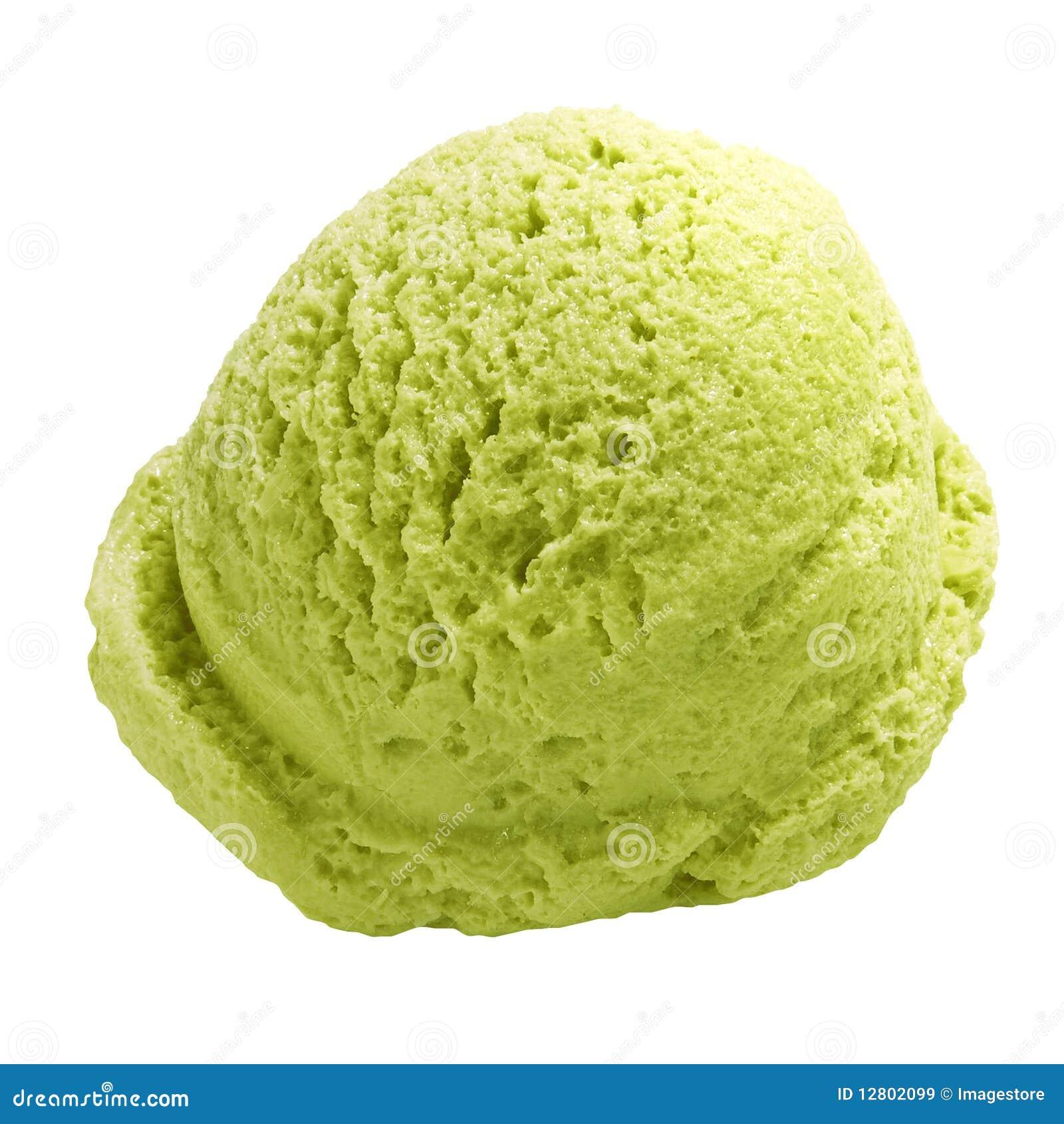 Pistachio Ice Cream Royalty Free Stock Images - Image: 12802099