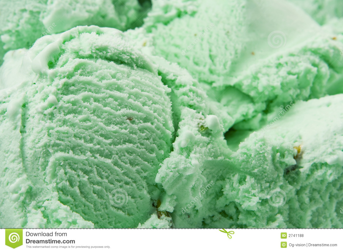 Pistachio Ice Cream Royalty Free Stock Photos - Image: 2741188