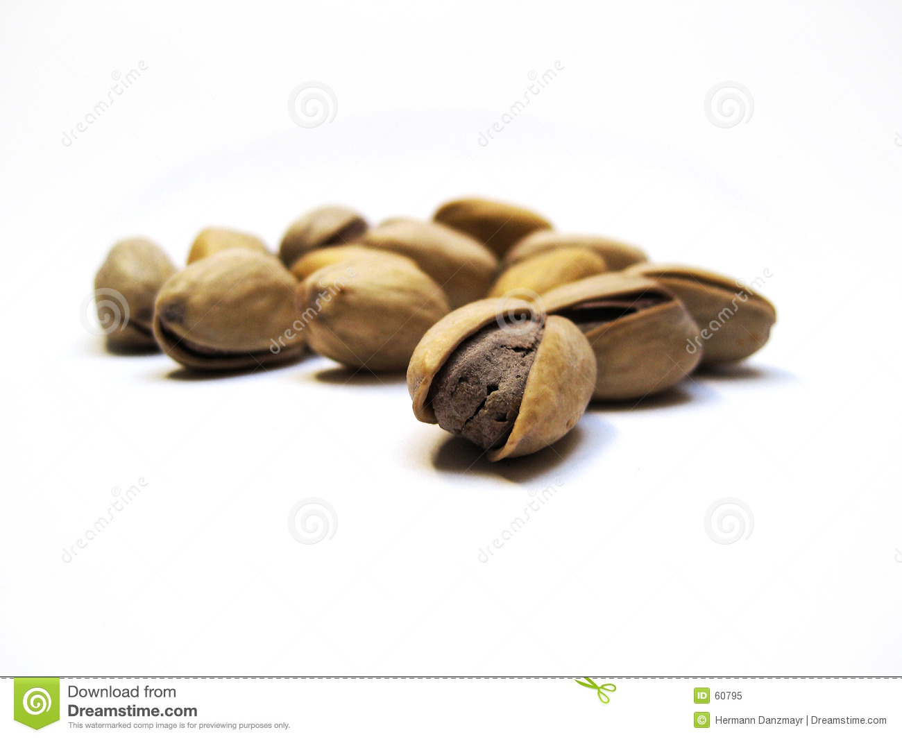 Download Pistacios image stock. Image du biscuits, shell, marmonnement - 60795
