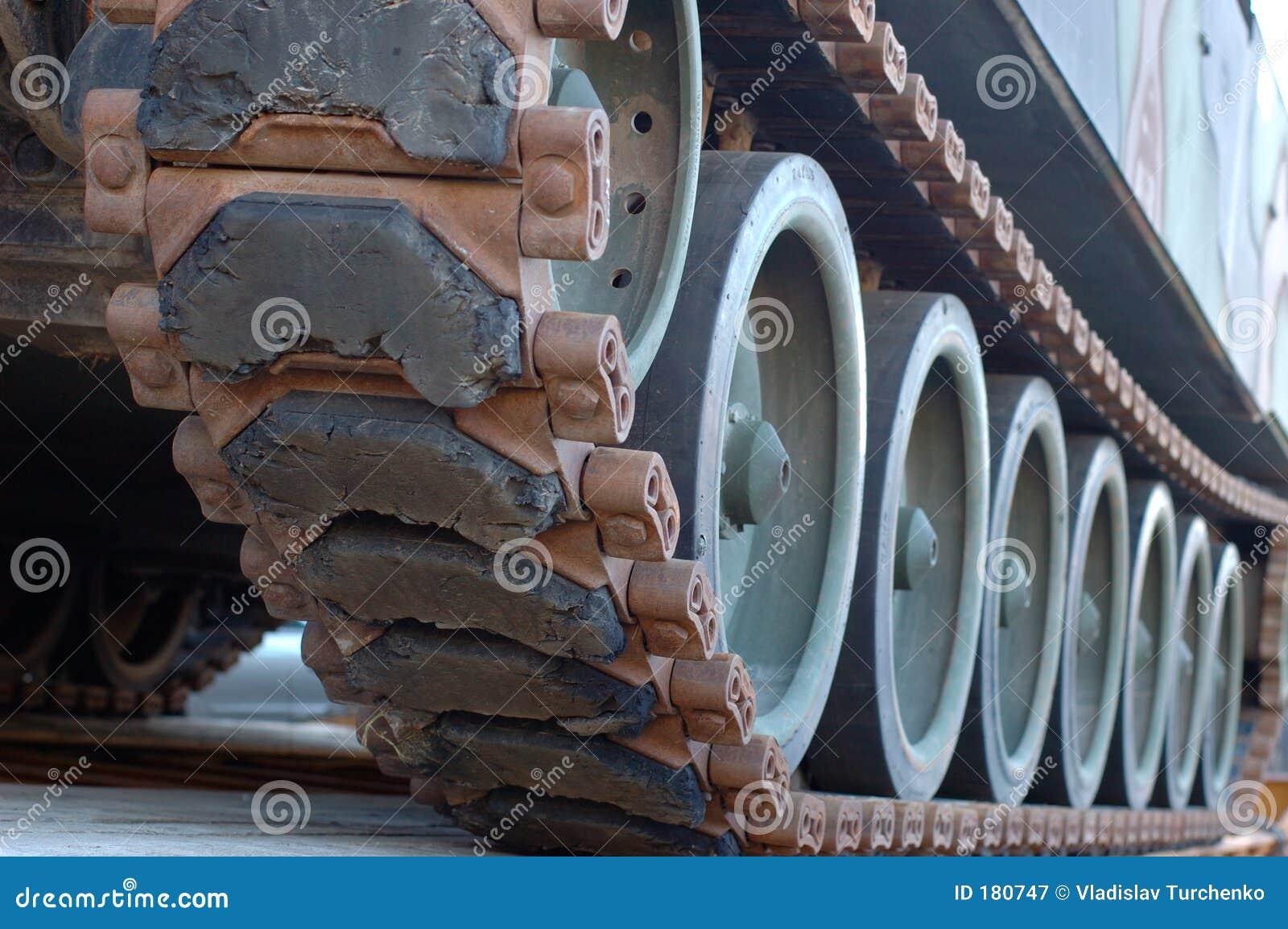 Pistas del tanque
