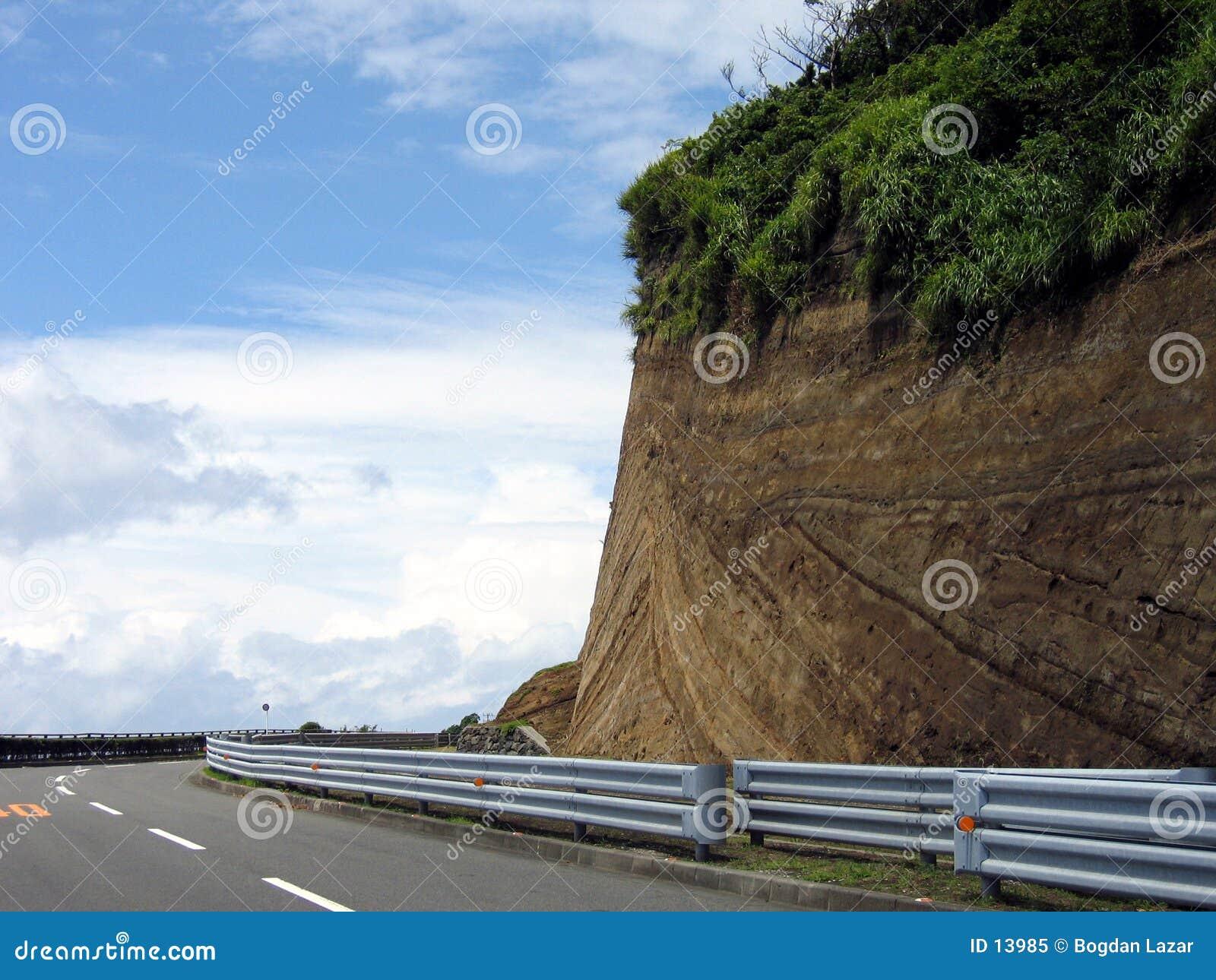 Piste de chemin - tourne-à-droite