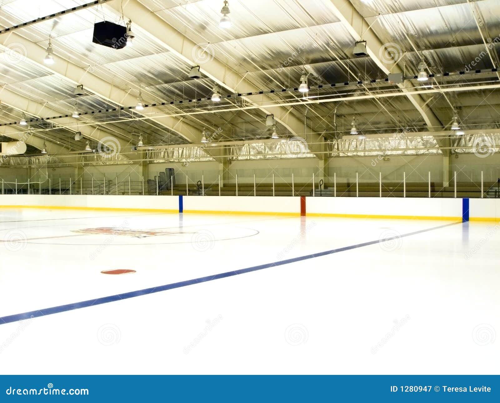 Piste de patinage de glace