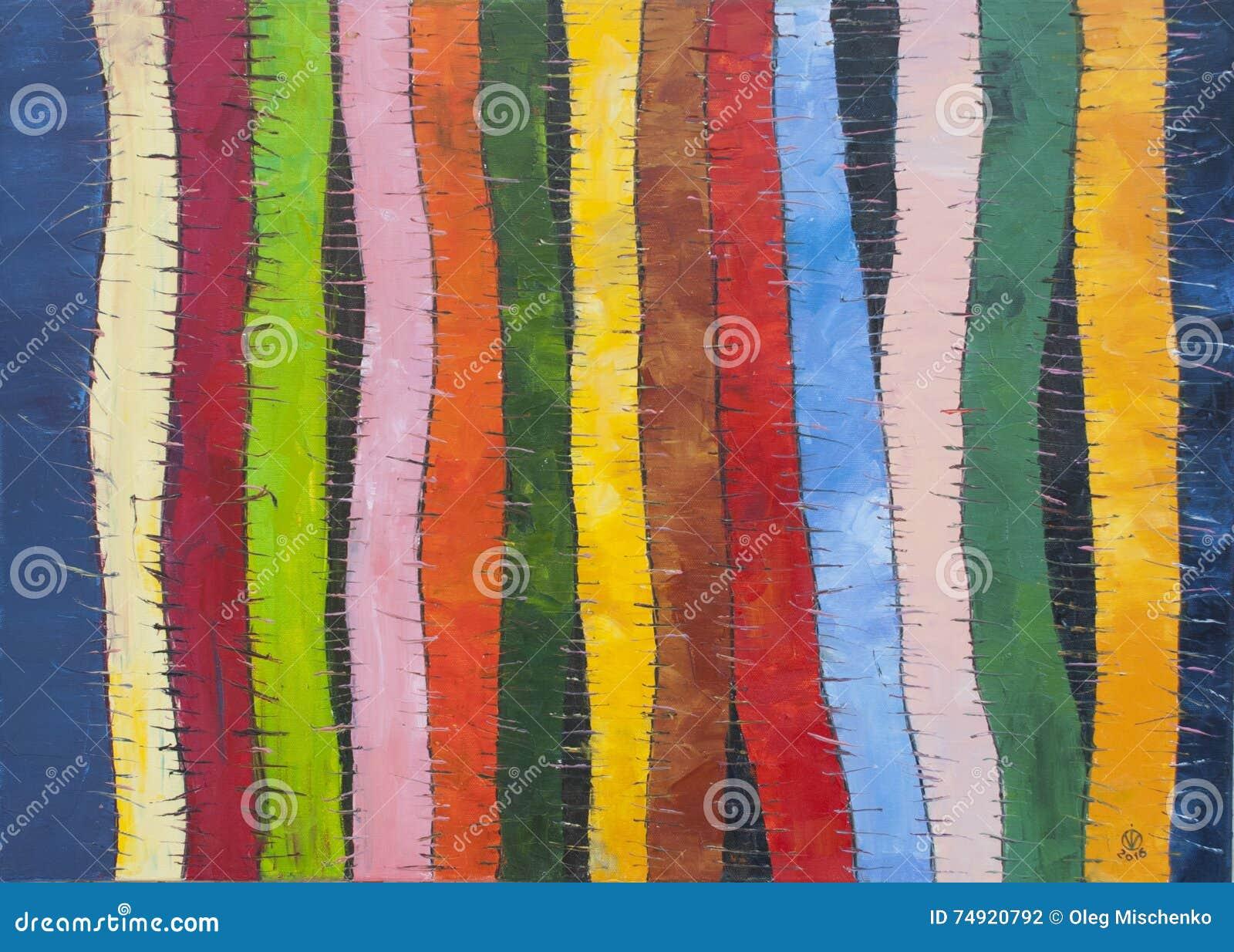 Pistes colorées