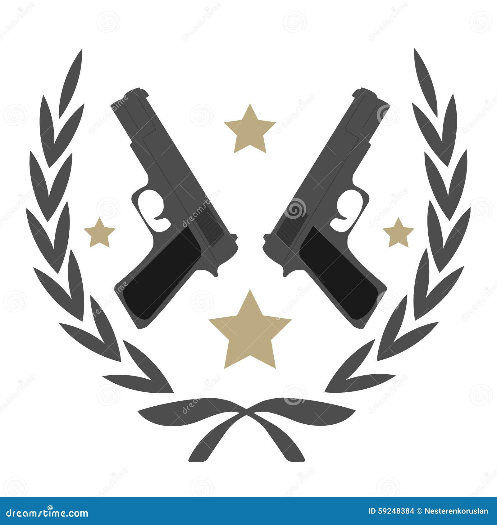 Color  no outlin...Audio Clipart Of Gun Fire