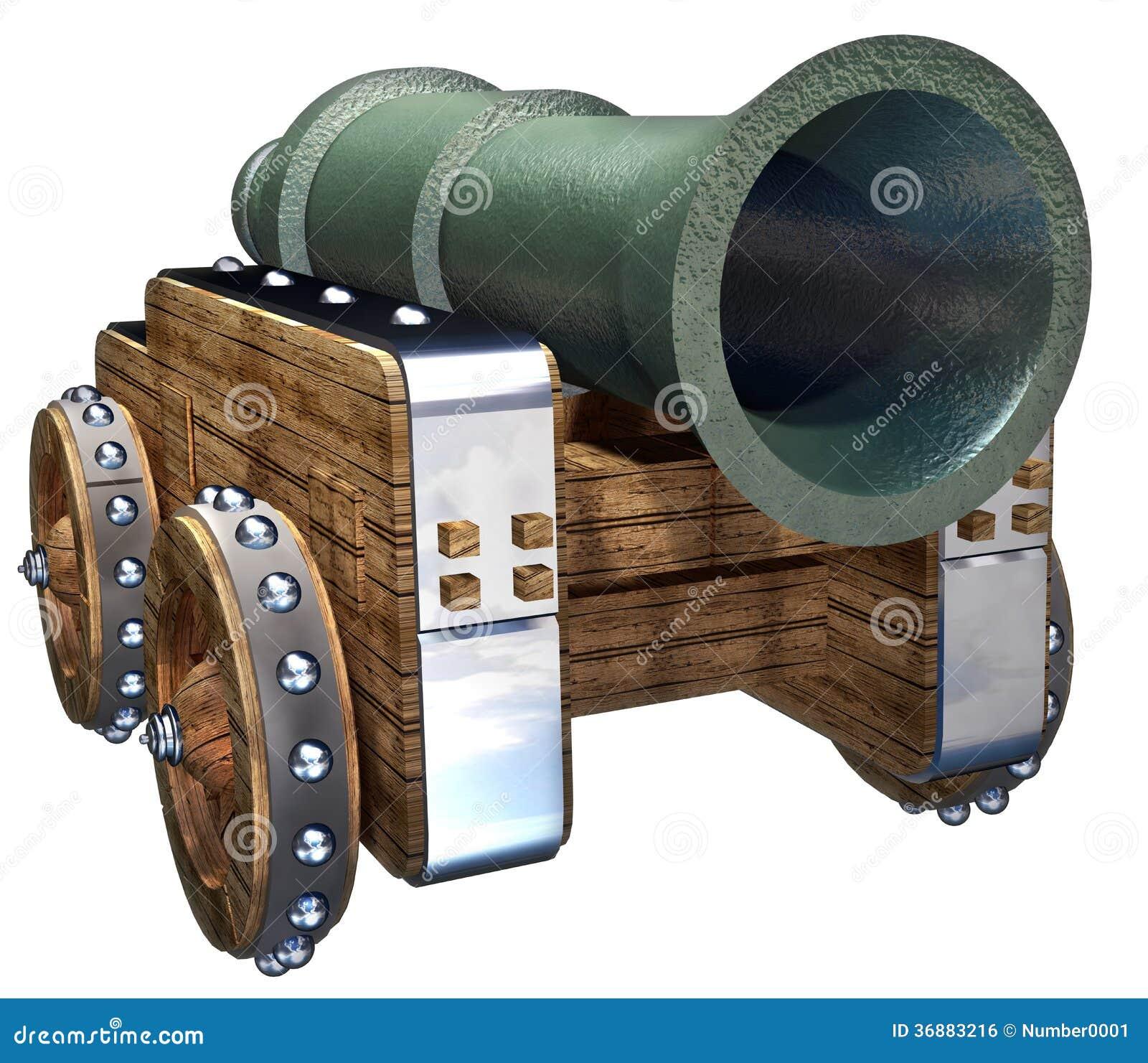 Download Pistola illustrazione di stock. Illustrazione di medioevale - 36883216