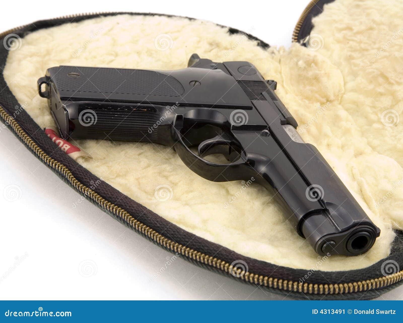 Pistola de 9m m