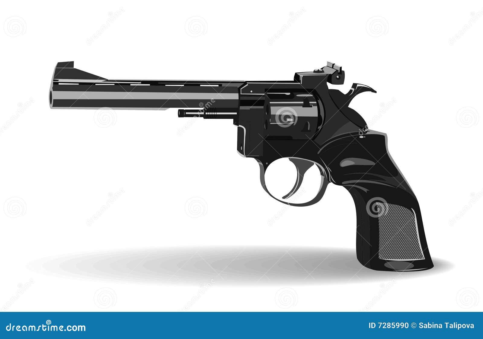 Pistola de gran alcance