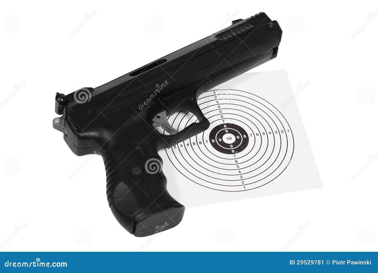 Pistola pneumática com arma-protetor
