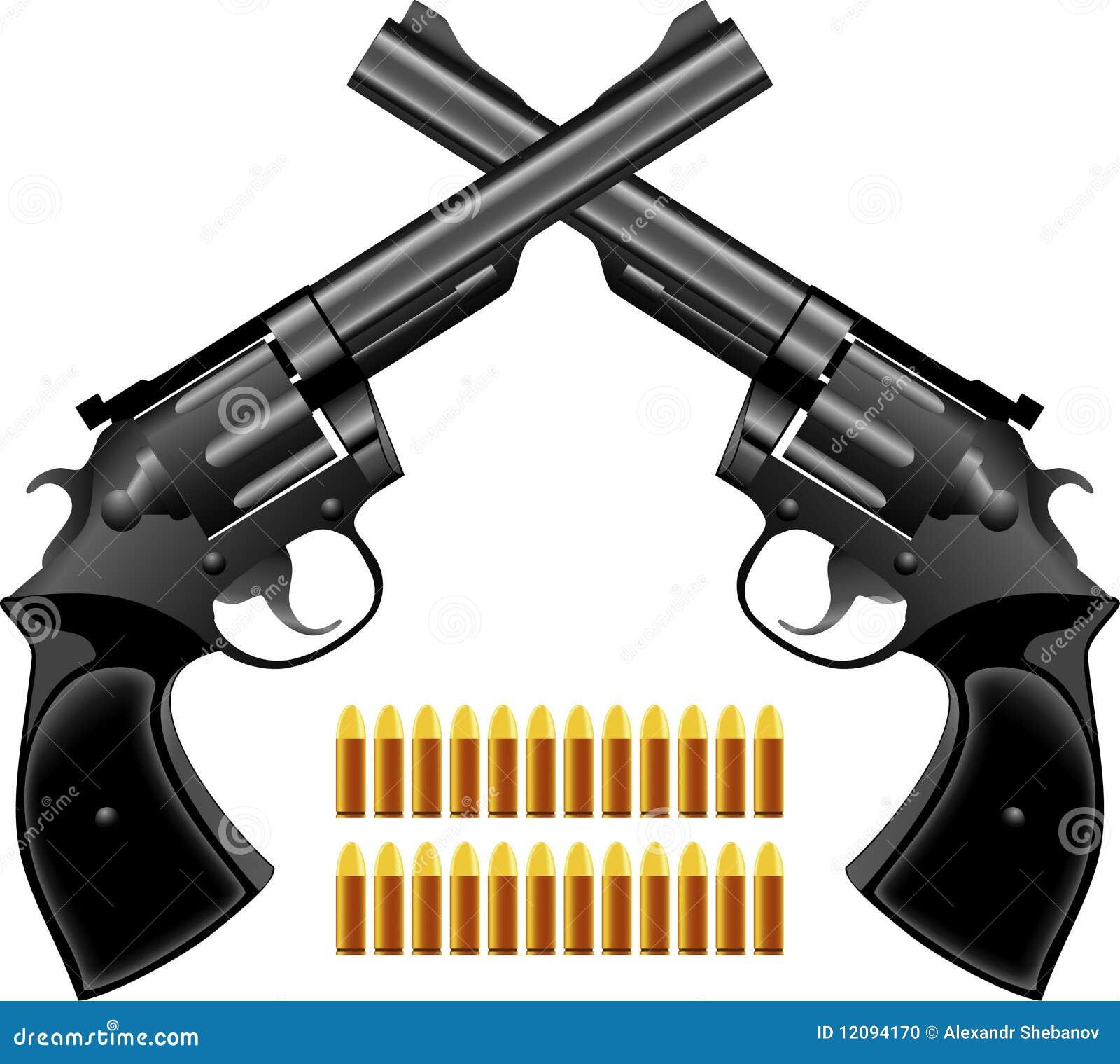 Pistola un revólver