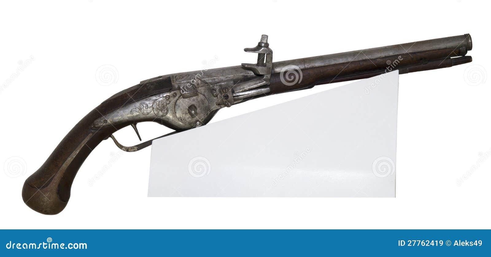 Pistolet antique