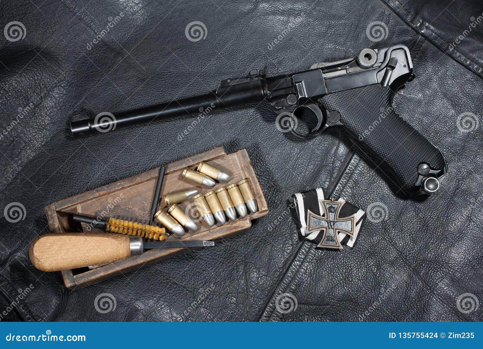 Terrestres Forces Pistolet De L'allemagne Parabellum 0wOP8XNnkZ