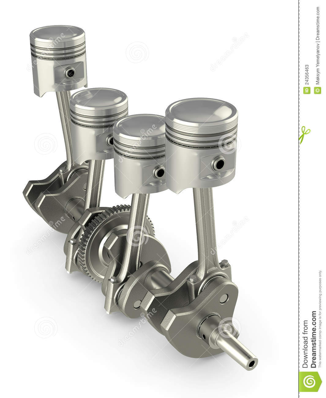 Pistons and crankshaft four cylinder engine stock photos for Best motor oil for 4 cylinder engines