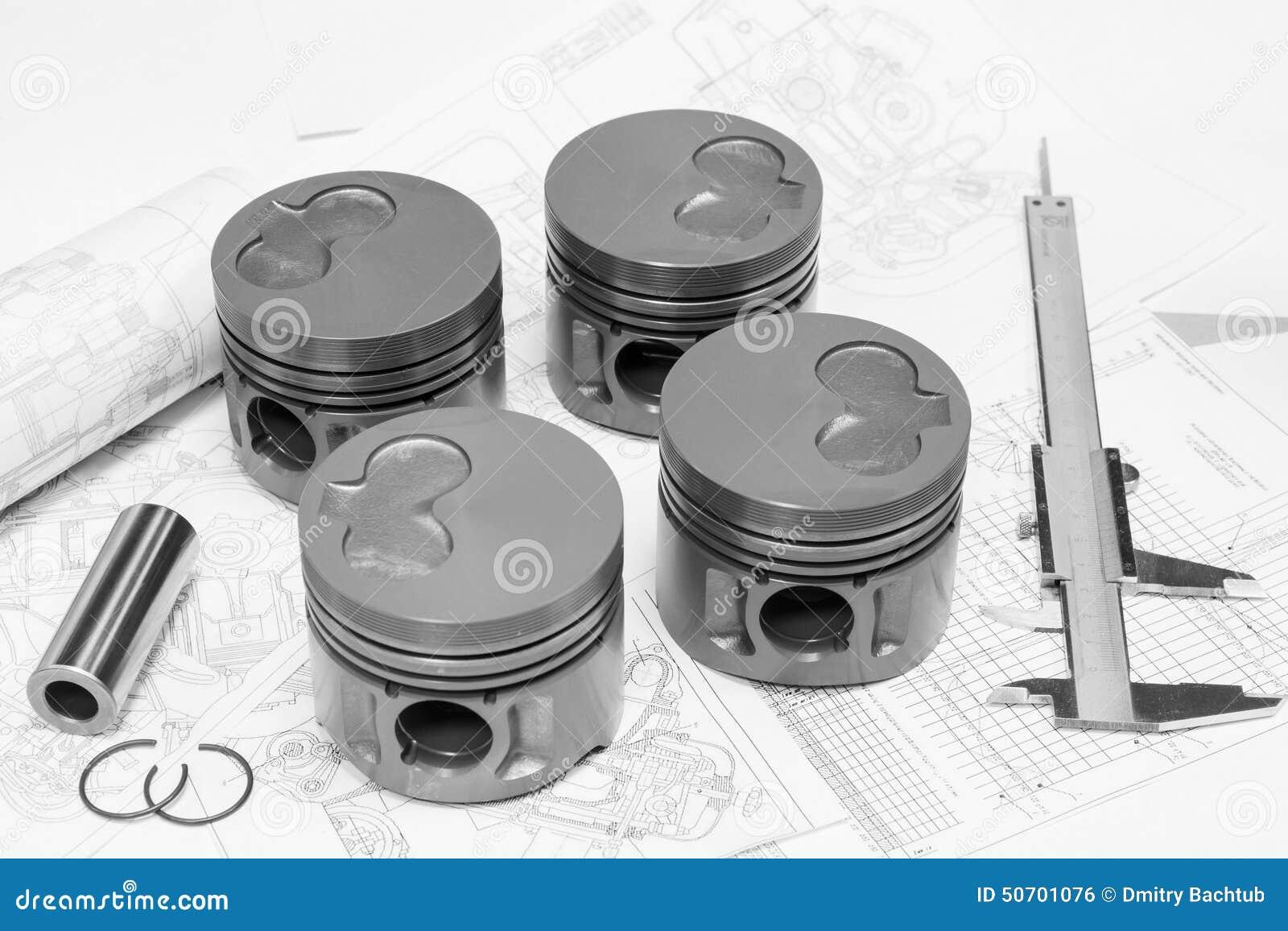 pistons de moteur de voiture photo stock image 50701076
