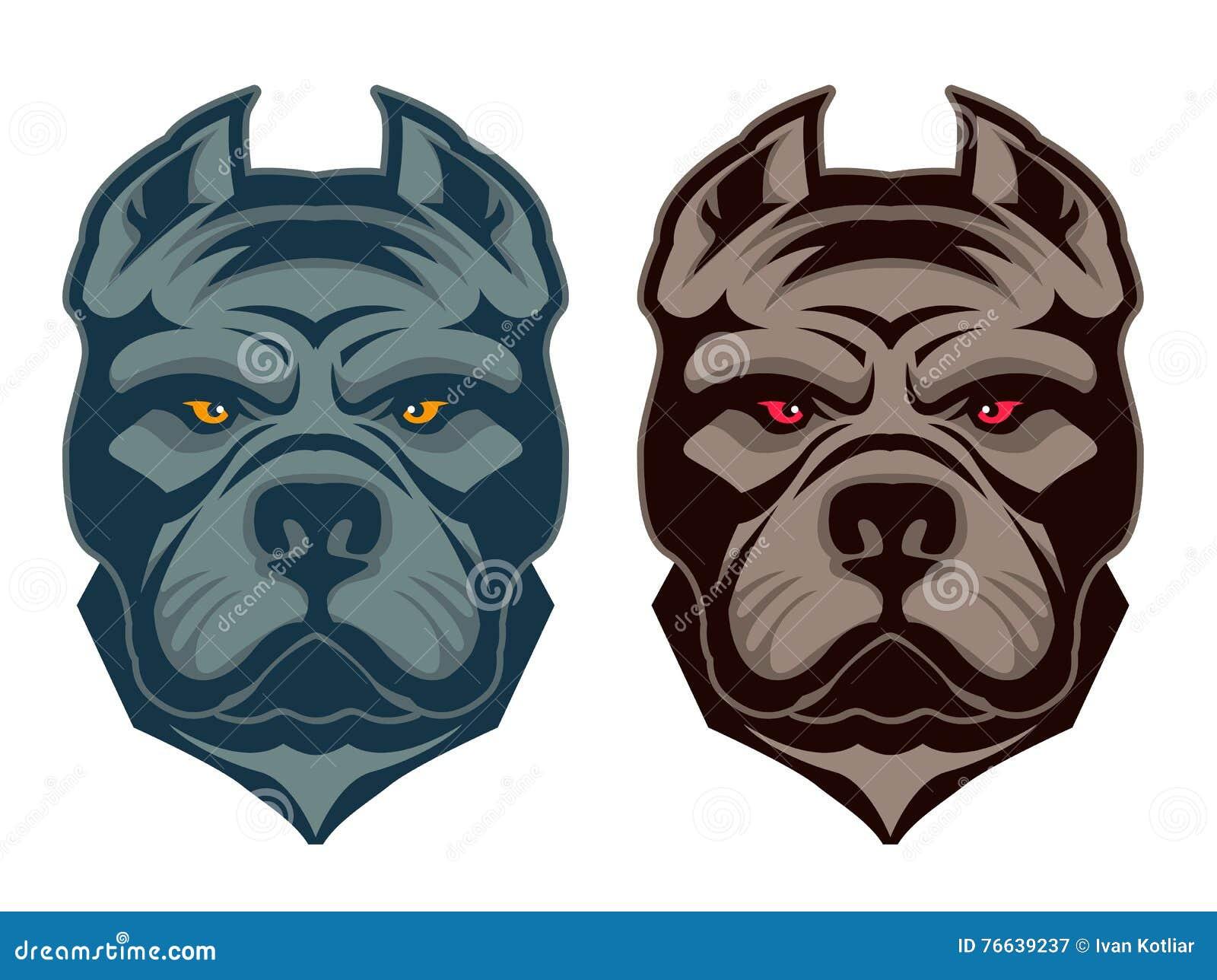 Pit bull maskotka