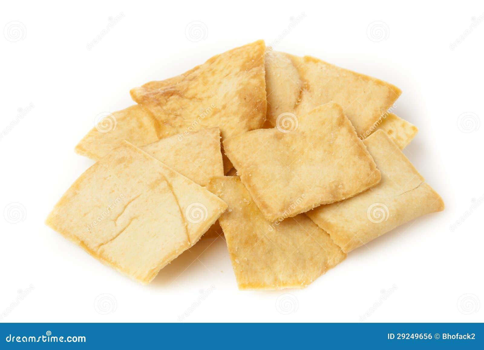 Download Pita Chips Crocante Caseiro Foto de Stock - Imagem de trigo, mediterranean: 29249656