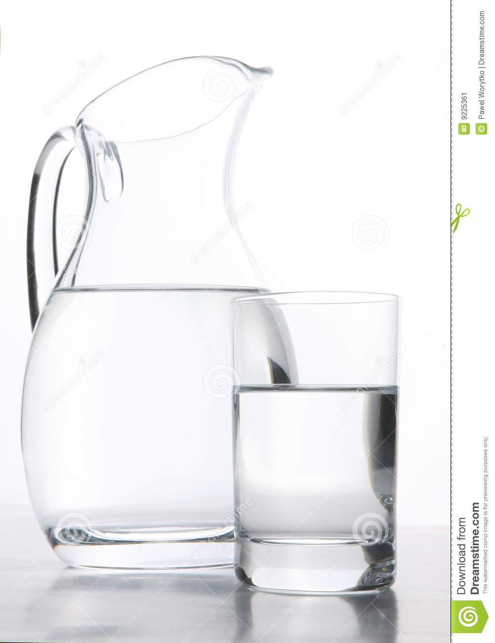 pitcher  glass filled with water stock image  image  - glass water