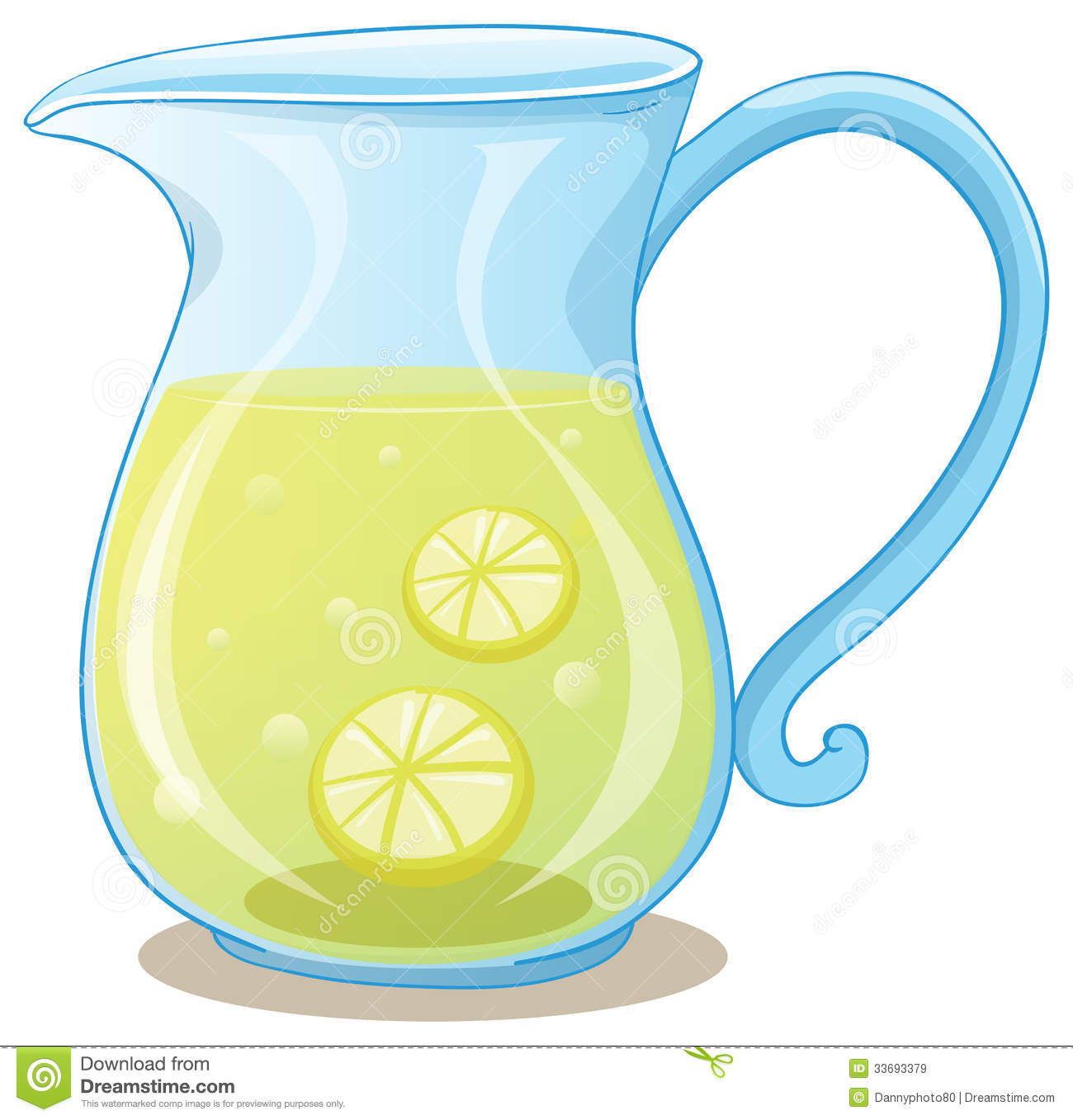 Pitcher Of Lemon Juice Royalty Free Stock Images - Image: 33693379