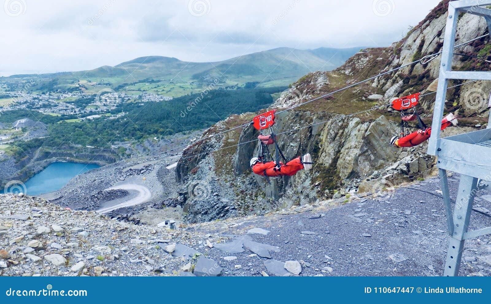 Pitlijn in Wales