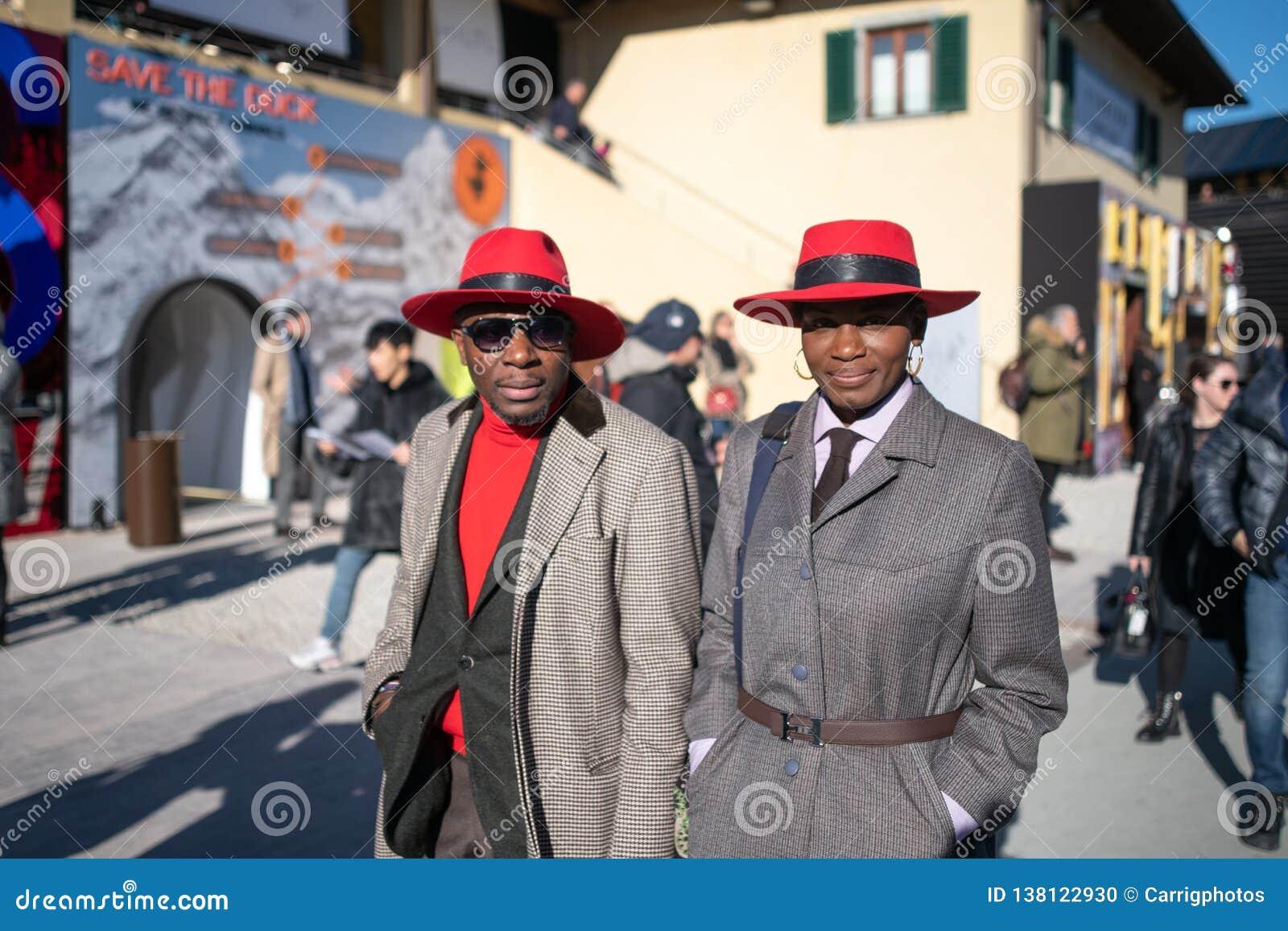 Pitti Uomo 95, Florencja, Włochy