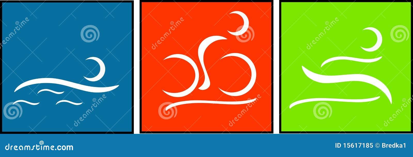 Pittogramma del Triathlon
