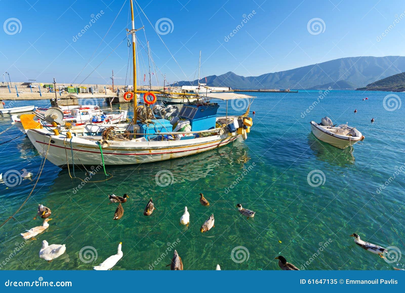 Pittoresk hamn