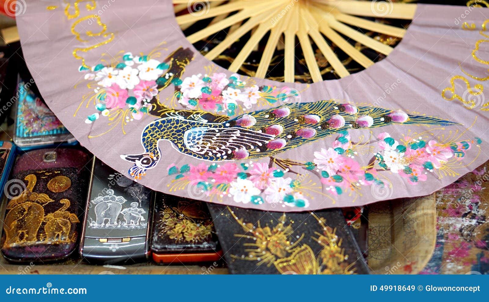 Pittura asiatica di arte sulla carta muberry