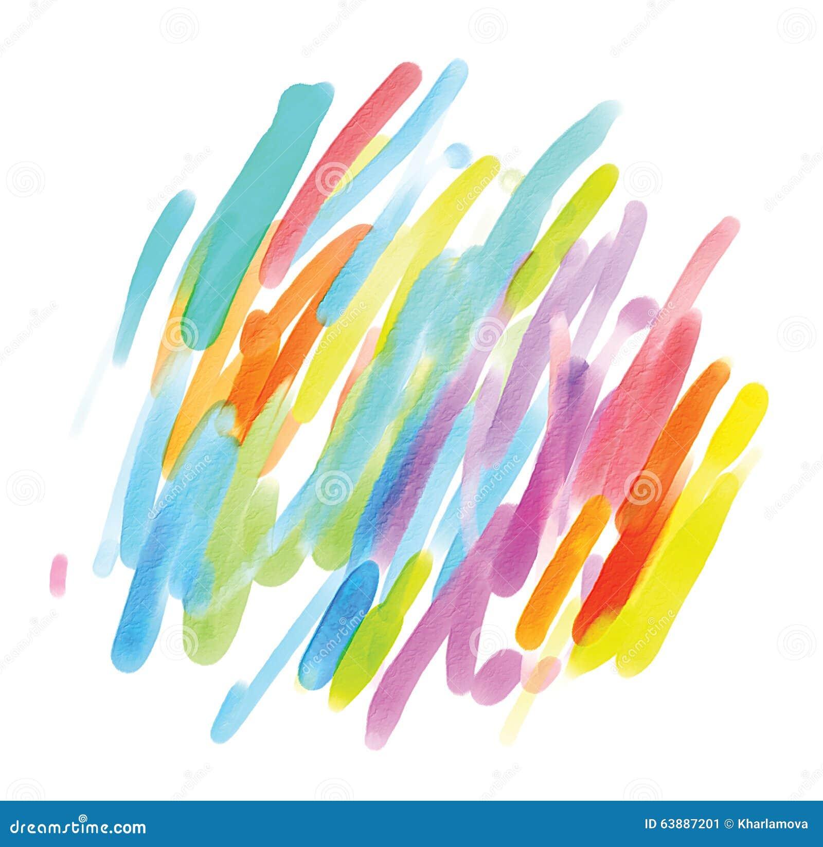 Pittura astratta dell acquerello