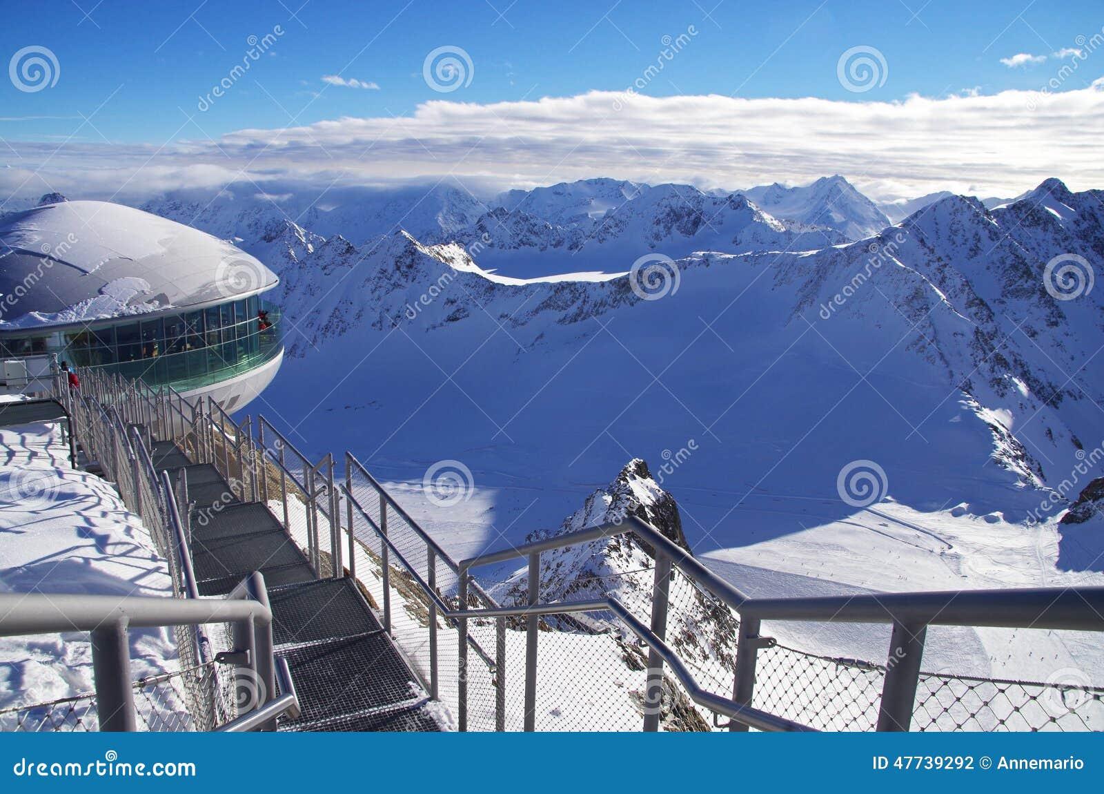 pitztal glacier, austria stock photo. image of nature - 47739292