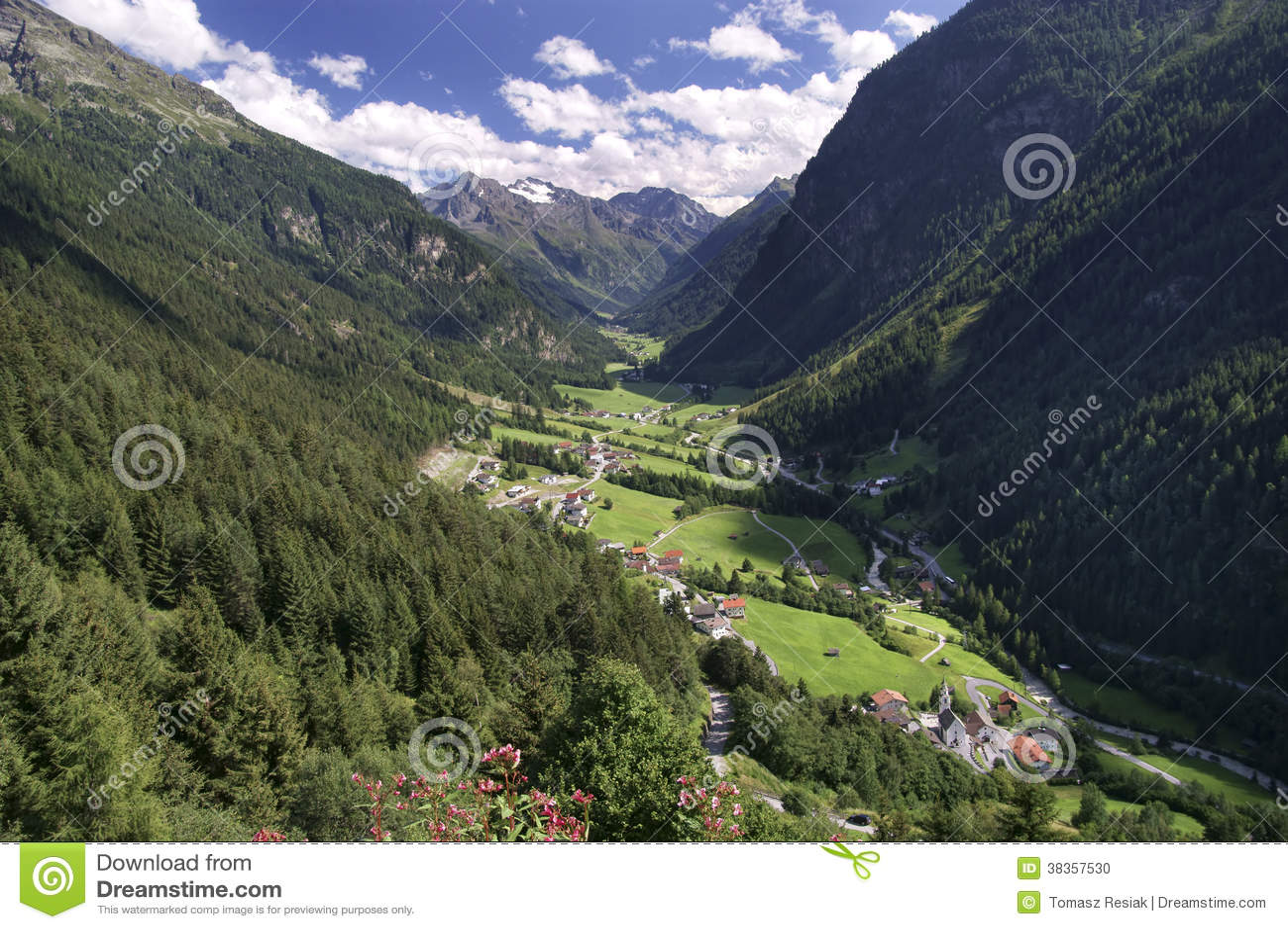 Pitztalvallei in Tirol
