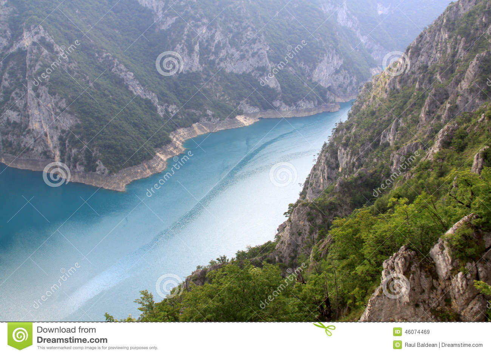 Pivsko Jezero, Durmitor National Park, Montenegro
