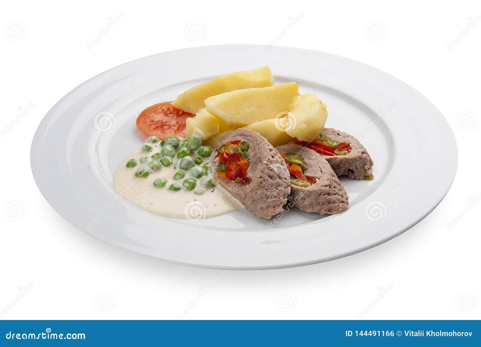 Piwna przekąska Meatloaf z warzywami
