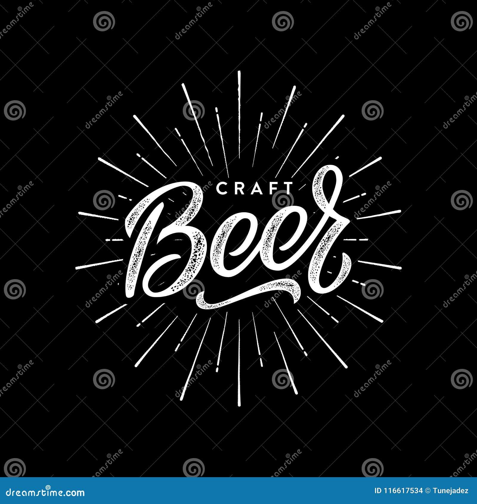 Piwny rzemiosła czerń