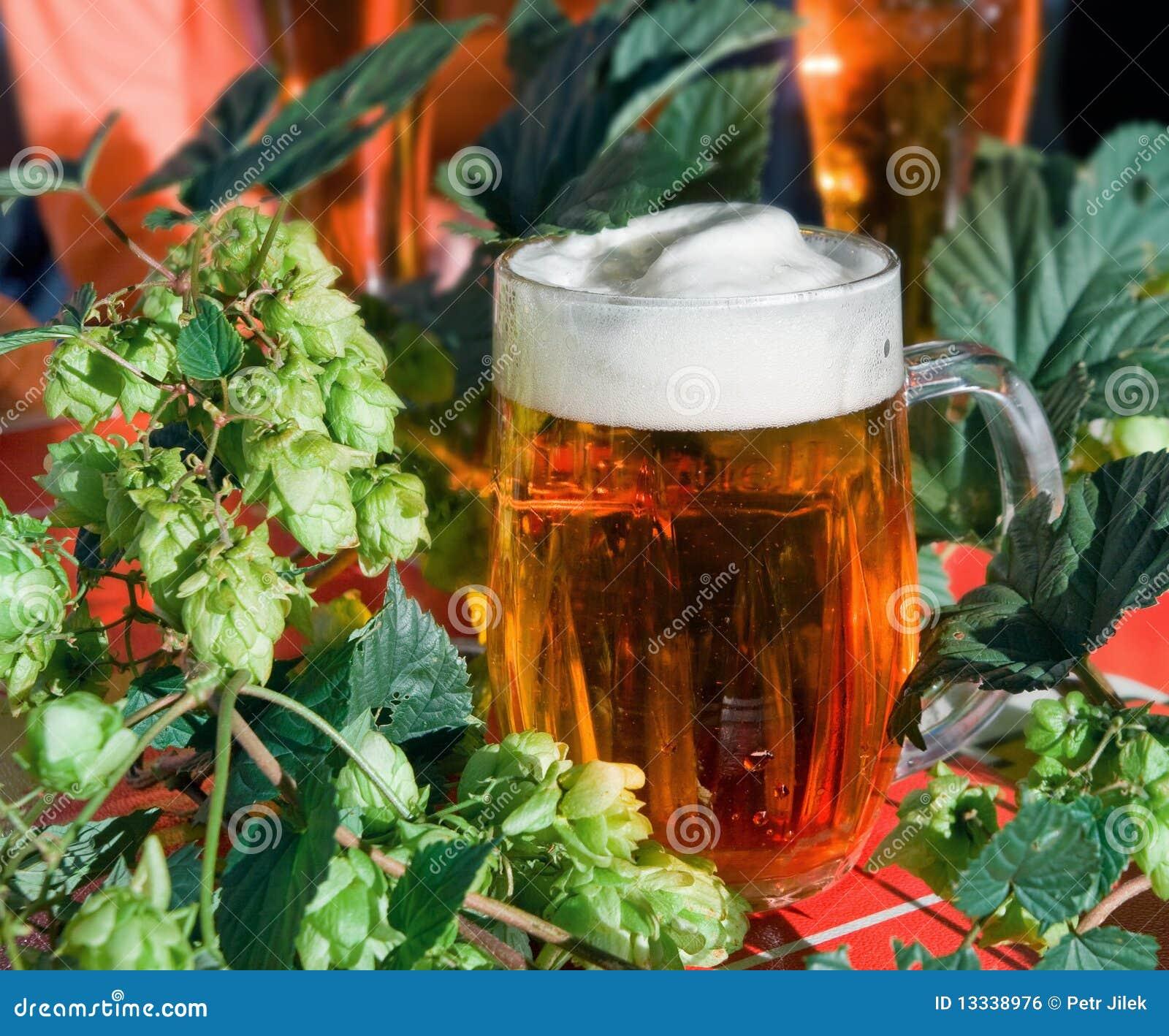 Piwo podskakuje