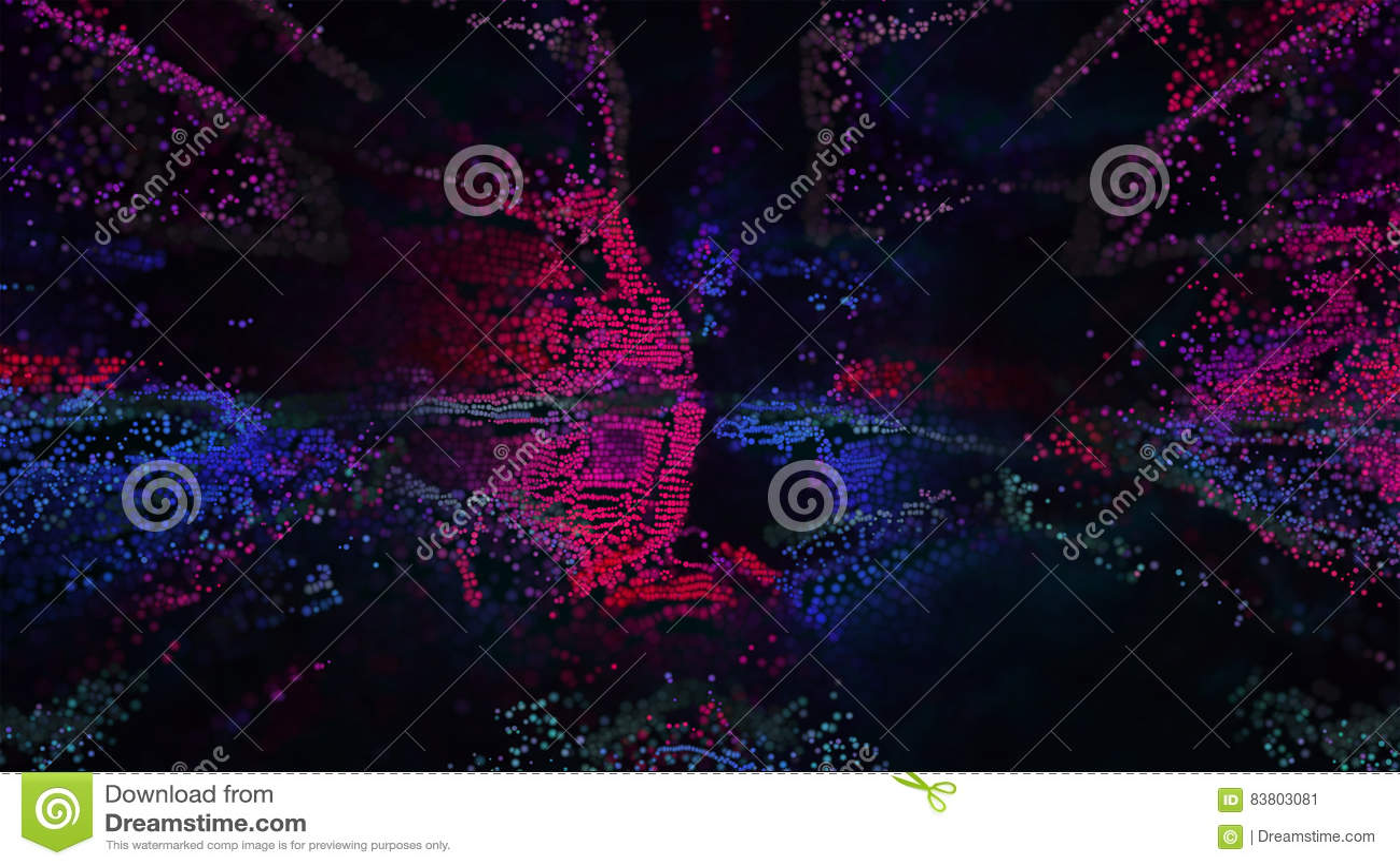 Pixel Art Abstract Background Illustration Stock