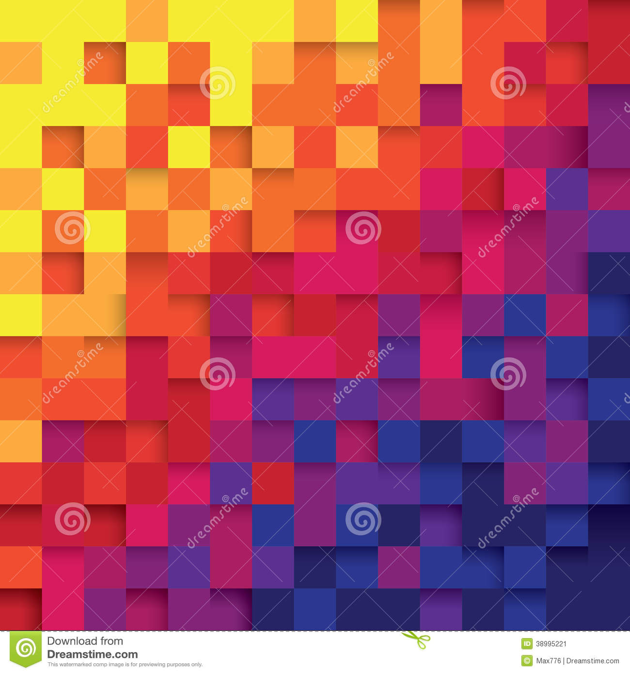 Hd wallpaper triangle - Pixel Color Abstract Background Stock Vector Image 38995221