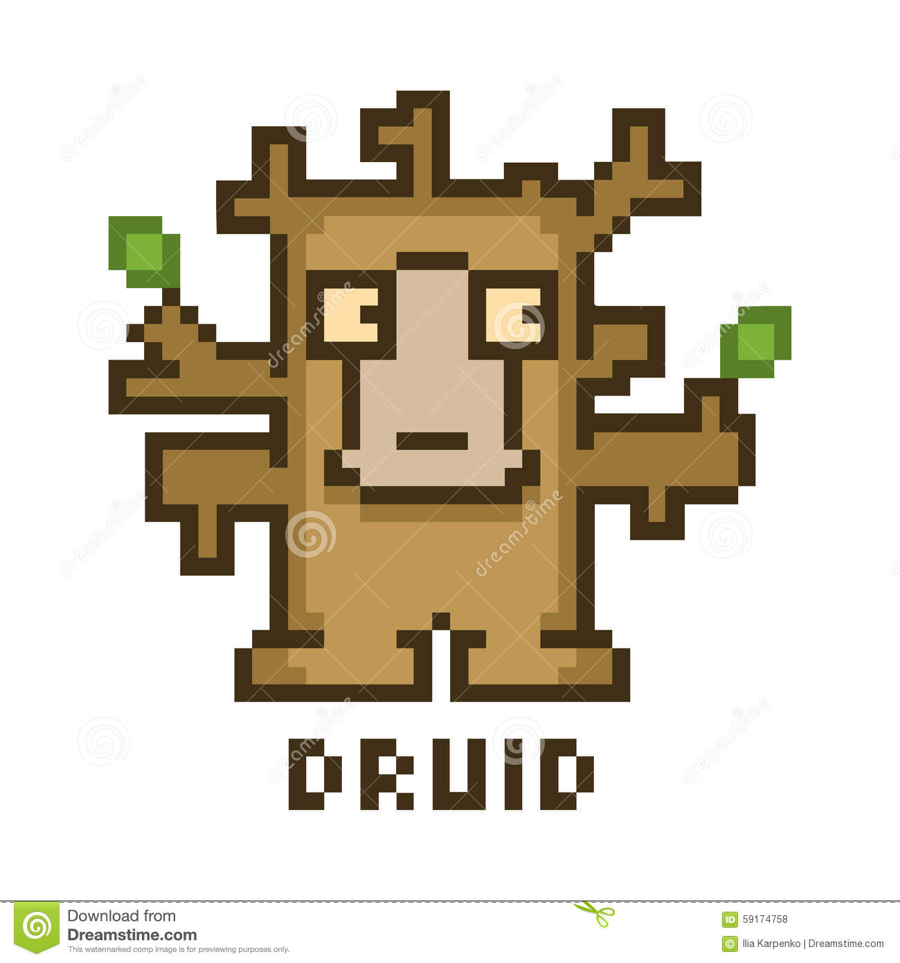 Druid stock illustrations 727 druid stock illustrations vectors pixel druid for 8 bit video games and design royalty free stock photos nvjuhfo Choice Image