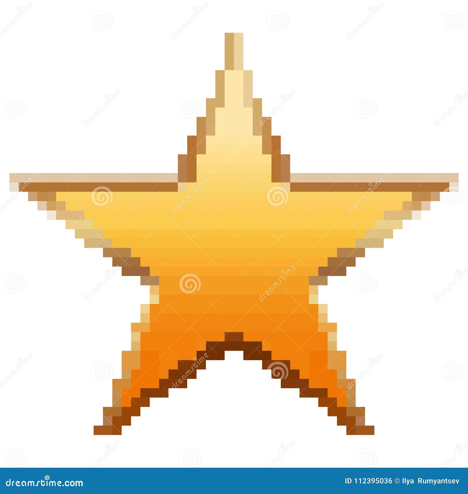 Pixelated金星商标